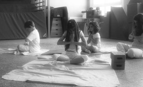 Yoga para niños en escuelas